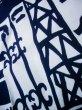 画像10: J0118K ゆかた 女性用着物 神戸の街並み 綿   白, ぼたん 【中古】 【USED】 【リサイクル】 ★★★☆☆ (10)